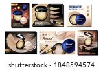 powder cosmetics creative promo ... | Shutterstock .eps vector #1848594574