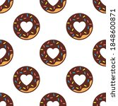vector image. funny pattern of...   Shutterstock .eps vector #1848600871