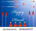 happy diwali image for diwali... | Shutterstock . vector #1848660937