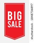 label sales promo offers big... | Shutterstock .eps vector #1848736897