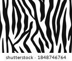 seamless pattern of zebra... | Shutterstock .eps vector #1848746764