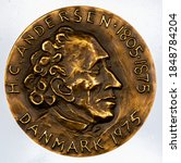 Commemorative coins of Denmark, Hans Christian Andersen (1805-1875), Danish writer.