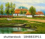 Oil Paintings Landscape  Old...
