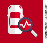 automotive diagnostics symbol   Shutterstock .eps vector #184885889