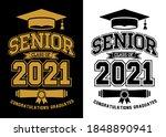 senior class of 2021 for... | Shutterstock .eps vector #1848890941