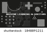 big data and machine learning... | Shutterstock .eps vector #1848891211