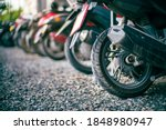 The Wheels Of The Motorcycle...