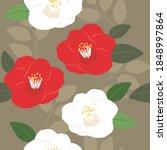 Vector Camellia Flowers...