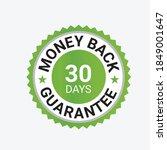 money back guarantee  risk free ... | Shutterstock .eps vector #1849001647