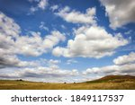 English Countryside Scene With...