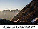 Sunrise Over The Swiss Alps ...