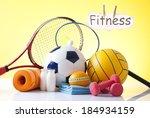sport equipment | Shutterstock . vector #184934159