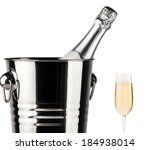beautiful picture of a bottle...   Shutterstock . vector #184938014