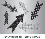 grunge arrow | Shutterstock .eps vector #184942931