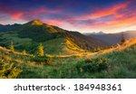 beautiful summer landscape in... | Shutterstock . vector #184948361