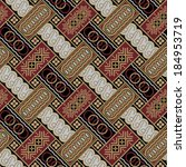 javanese batik seamless pattern ... | Shutterstock .eps vector #184953719