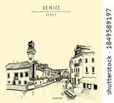 Murano Island In Venice  Italy  ...