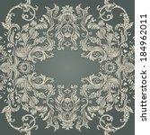 vintage background ornate... | Shutterstock .eps vector #184962011