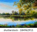 Oil Painting Landscape   Castl...