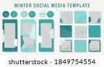 abstract design winter... | Shutterstock .eps vector #1849754554