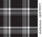 black and white glen plaid...   Shutterstock .eps vector #1849799977