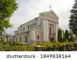 Church of St. Barbara (the wedding place in 1850 of the French writer Honore de Balzac and Countess Evelina Ganskaya) in Berdichev, Ukraine