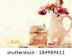 Handmade Gift Box With Dried...