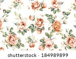 Rose Fabric Background ...