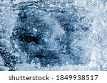 Ice Texture Background....