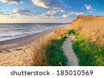 Way To The Beach. Nature...