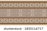 vector seamless tribal border...   Shutterstock .eps vector #1850116717