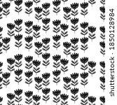 seamless floral pattern based... | Shutterstock .eps vector #1850128984