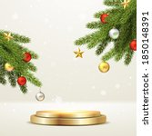 elegant christmas and happy new ... | Shutterstock .eps vector #1850148391