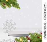 elegant christmas and happy new ... | Shutterstock .eps vector #1850148394