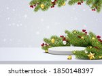 elegant christmas and happy new ... | Shutterstock .eps vector #1850148397