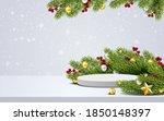 elegant christmas and happy new ... | Shutterstock .eps vector #1850148397