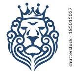 king lion | Shutterstock .eps vector #185015027