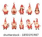 Christmas Dwarfs. Adorable...