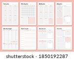 planner. weekly and days... | Shutterstock .eps vector #1850192287