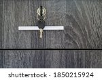 Desk Cabinet Drawer With One Key