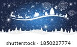 merry christmas and happy new... | Shutterstock .eps vector #1850227774