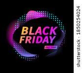 black friday sale banner....   Shutterstock .eps vector #1850254024