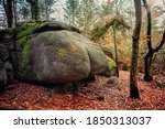 devil stone  autumn czech... | Shutterstock . vector #1850313037