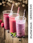 Berry Smoothies With Farm Fres...