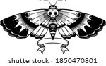 traditional black linework... | Shutterstock .eps vector #1850470801