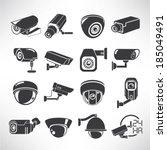 Cctv Icons  Surveillance Camer...