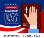inauguration of the president...   Shutterstock .eps vector #1850505421