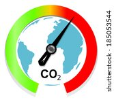 climate change and global... | Shutterstock .eps vector #185053544