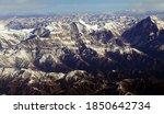 Aerial View Of Dhaulagiri In...