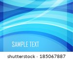 blue abstract background | Shutterstock .eps vector #185067887